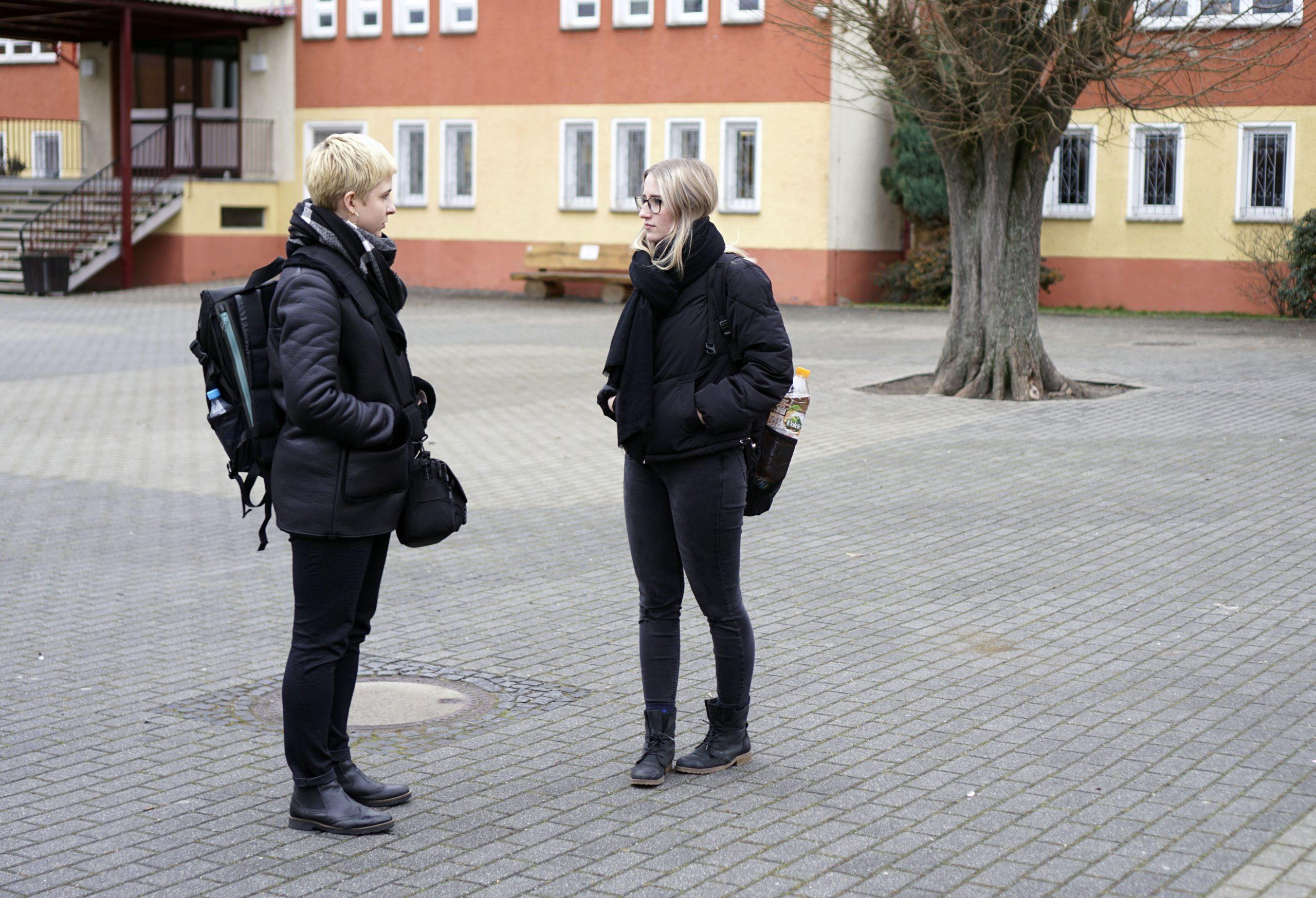 Annika im Interview mit Vivien Simmel