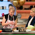 Lubina Jeschke und Cornelia Poletto bei der ZDF Küchenschlacht