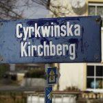 Zweisprachiges Straßenschild - Lausitz