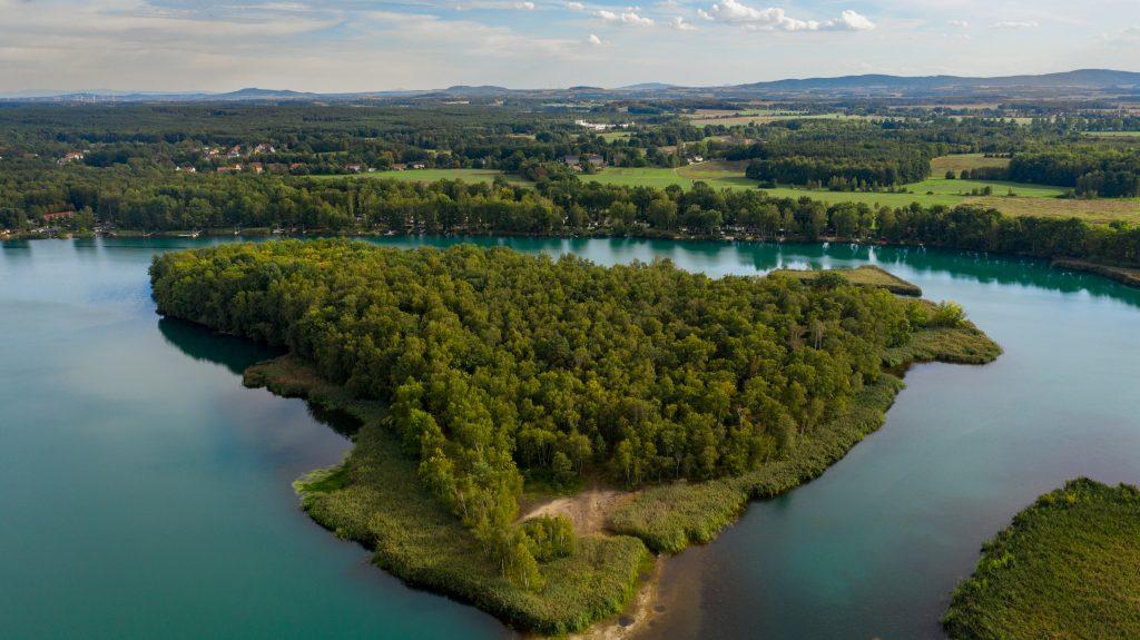 Bild der Oberlausitzer Heide und Teichlandschaft